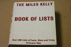 The Miles Kelly Book of Lists