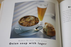 Onion Soup with Lager