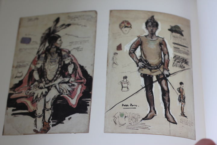 Costume designs for the first production of Peter Pan